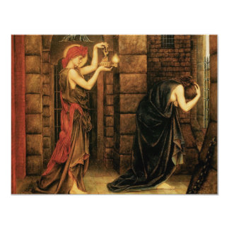Hope in a Prison of Despair by Evelyn De Morgan Card