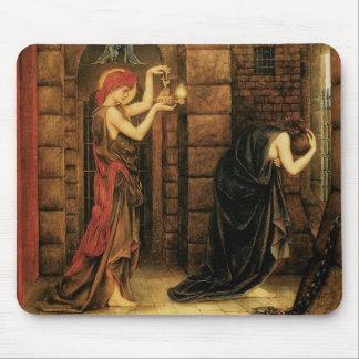 Hope in a Prison of Despair by Evelyn De Morgan Mouse Pad