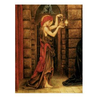 Hope in a Prison of Despair by Evelyn De Morgan Postcard