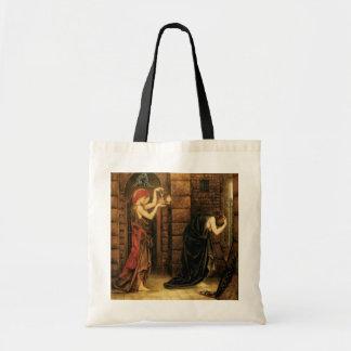 Hope in a Prison of Despair by Evelyn De Morgan Tote Bag