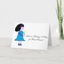 Hope In Fighting Breast Cancer Card