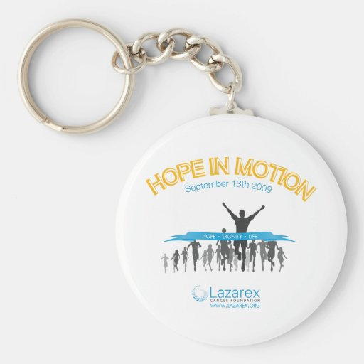 Hope In Motion Key Chain