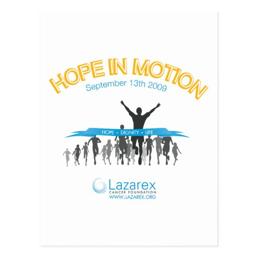 Hope In Motion Postcards