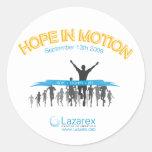 Hope In Motion Sticker