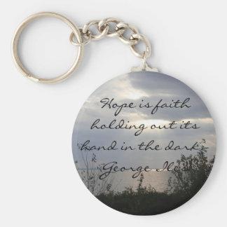 Hope in the Dark Basic Round Button Keychain