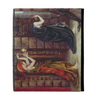 Hope in the Prison of Despair (oil on canvas) iPad Case