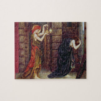 Hope in the Prison of Despair (oil on canvas) Jigsaw Puzzle