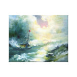 Hope in the Storm Stretched Canvas Prints