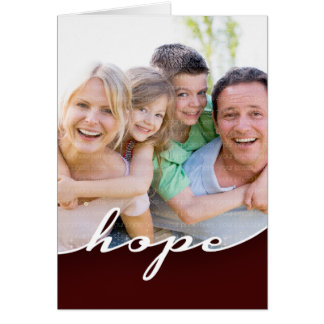 Hope in this New Year Card