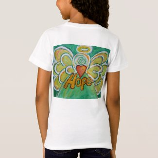 Hope Inspiration Angel Shirt (Art on Back Side)