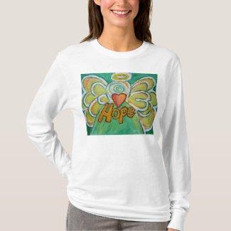 Hope Inspiration Angel Shirt (Art on Front Side)