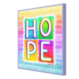 HOPE INSPIRATIONAL Gallery Wrapped Canvas