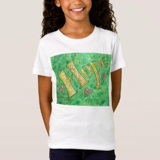 Hope Inspirational Movitational Word T-shirts