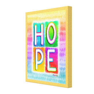 HOPE INSPIRATOINAL Gallery Wrapped Canvas