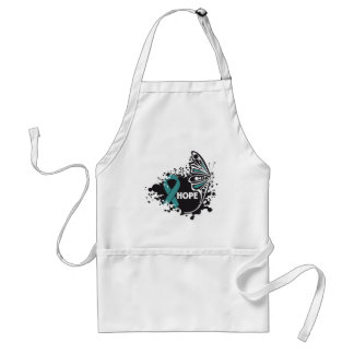 Hope Interstitial Cystitis Butterfly Adult Apron