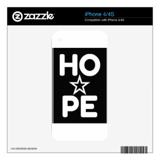 HOPE iPhone 4S SKIN