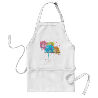 HOPE is a waking dream - Aristotle Adult Apron
