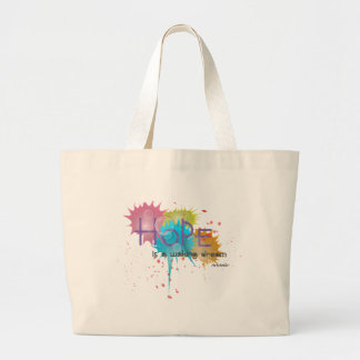 HOPE is a waking dream - Aristotle Large Tote Bag