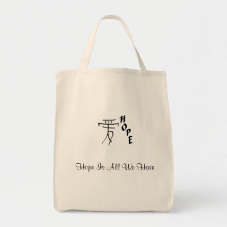 Hope Is All We Have organic shopping bag