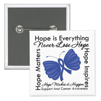 Hope is Everything - Anal Cancer Awareness Pins