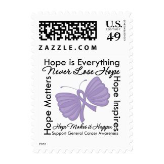 Hope is Everything - General Cancer Awareness Stamp