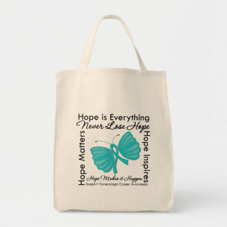 Hope is Everything - Gynecologic Cancer Awareness Bags