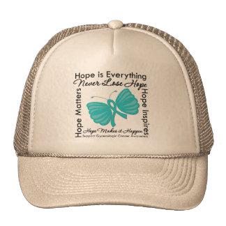 Hope is Everything - Gynecologic Cancer Awareness Mesh Hat