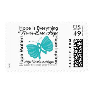 Hope is Everything - Gynecologic Cancer Awareness Postage