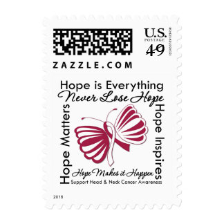 Hope is Everything - Head and Neck Cancer Postage