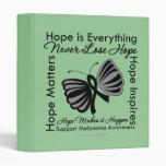 Hope is Everything - Melanoma Awareness 3 Ring Binders
