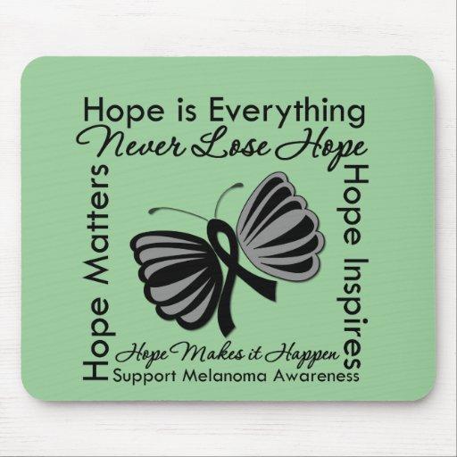 Hope is Everything - Melanoma Awareness Mouse Pad