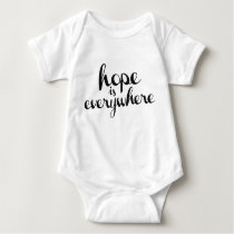 Hope is Everywhere - Crawler Light Colors Baby Bodysuit