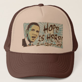 Hope is Here Inauguration Day Gear Trucker Hat
