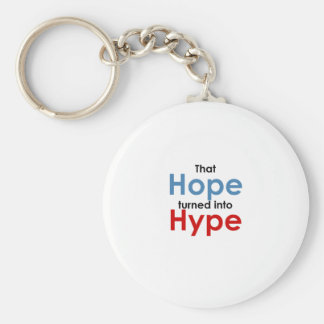 Hope is hype: Anti-Obama Keychain