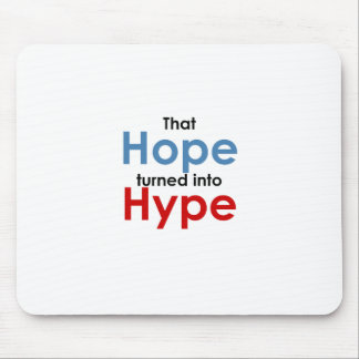 Hope is hype: Anti-Obama Mouse Pad