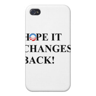 Hope it changes back iPhone 4 cover