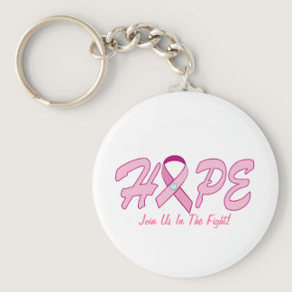 HOPE - Join Us In The Fight! Keychain