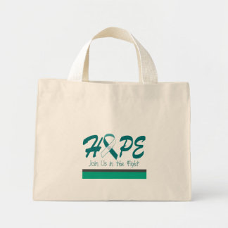HOPE - Join Us In The Fight Mini Tote Bag