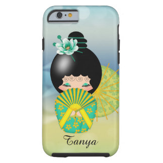 Hope Kokeshi Doll iPhone 6 Cover Tough iPhone 6 Case