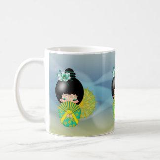 Hope Kokeshi Doll Mug