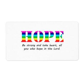 Hope Label