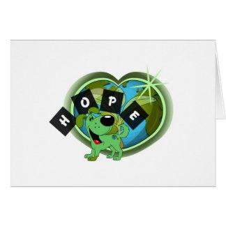 Hope (Leaf - Earth Day) Card