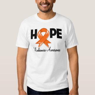 Hope Leukemia Awareness Tee Shirt