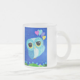 Hope Lifts Me Higher Frosted Glass Coffee Mug