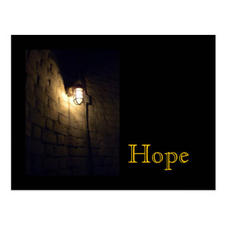 Hope: Light in the Darkness Postcard