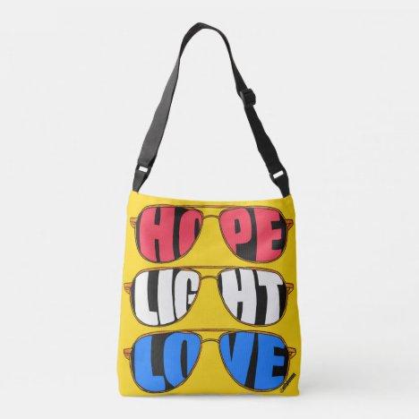 Hope Light Love Biden Crossbody Bag