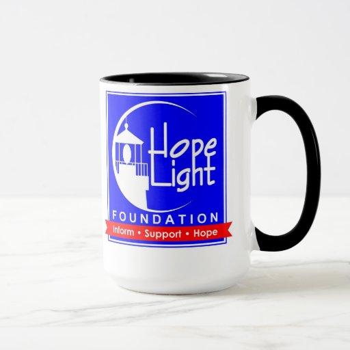 Hope Light Square Logo Mug