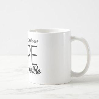 Hope (Lime) Coffee Mug