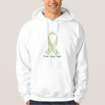 Hope Lime Green Awareness Ribbon Hoodie
