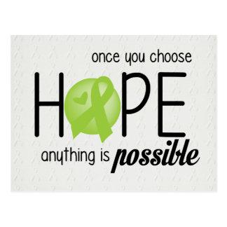 Hope (Lime) Postcard
